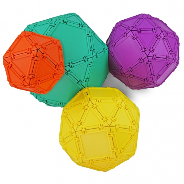 balloons made with geometiles