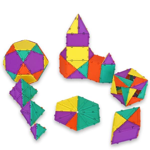 96 piece geometiles set