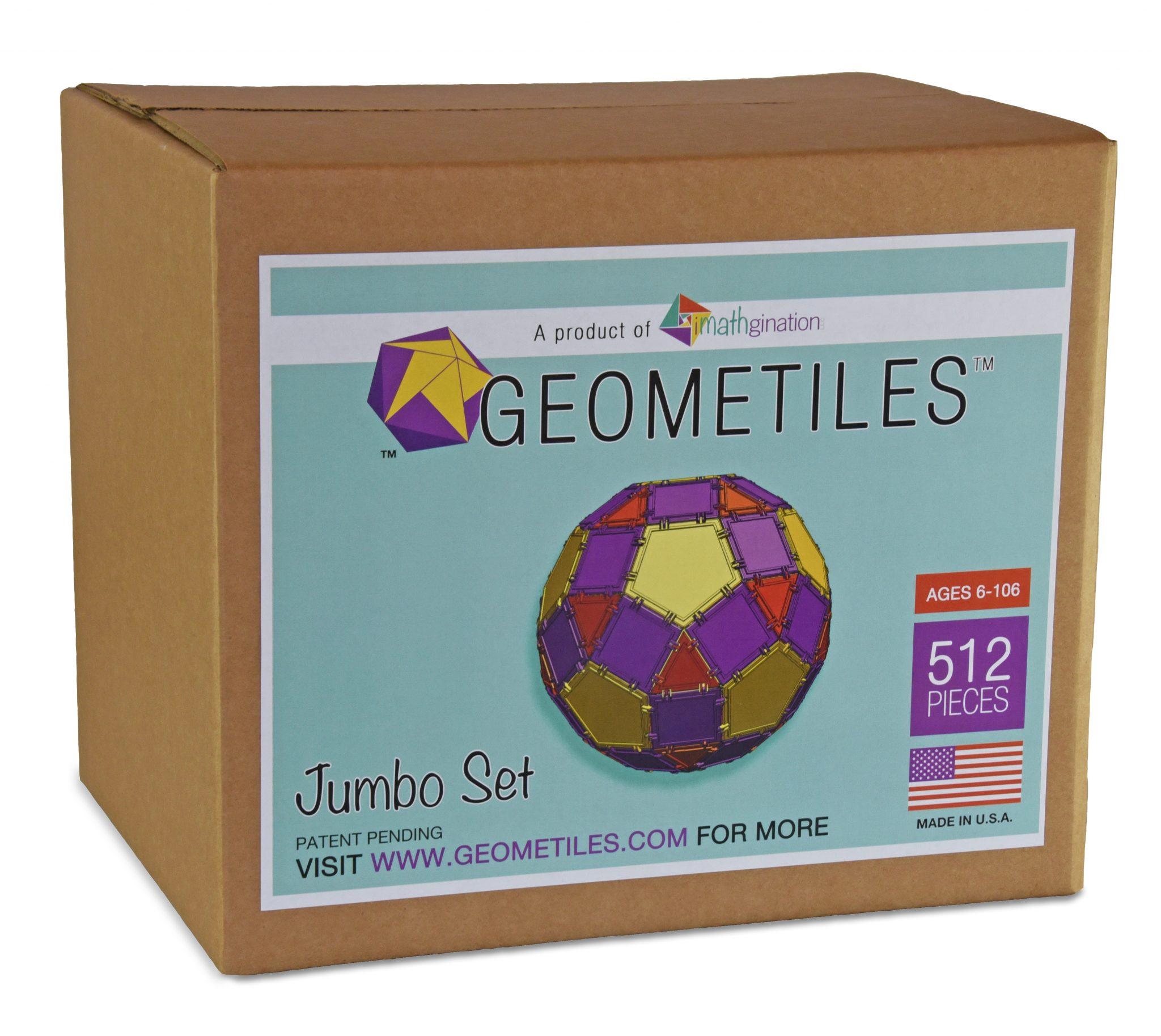 box of the jumbo 512 piece set