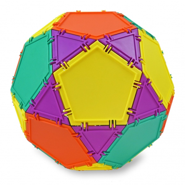 sphere built with geometiles