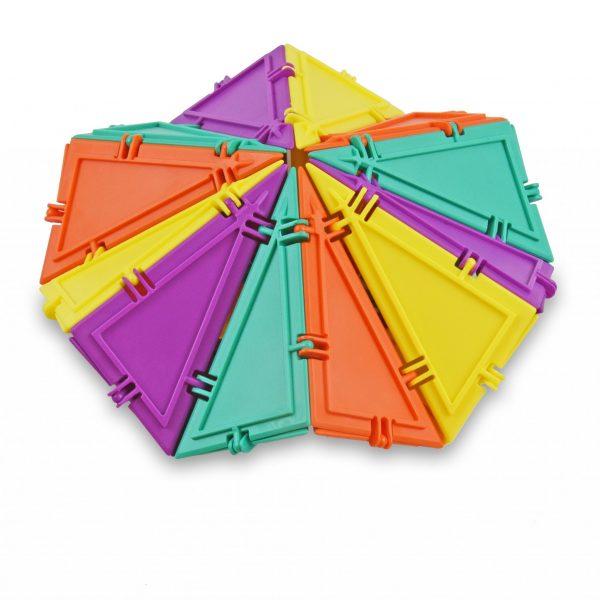 spinner built using geometiles