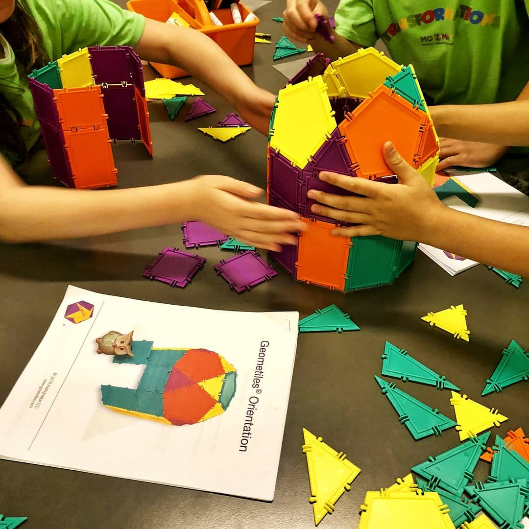 Math Summer Camp MoMath